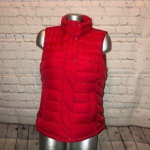 Puffy Red Gap Vest